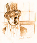 Matt Smith fast portrait