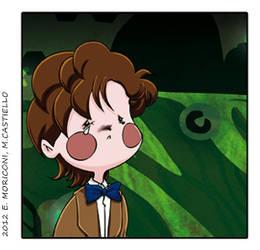 Comic Who - Crying Smithy by elisamoriconi