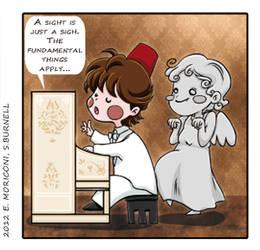 Comic Who - Casablinka by elisamoriconi