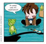 Comic Who - Shadows and Bananas