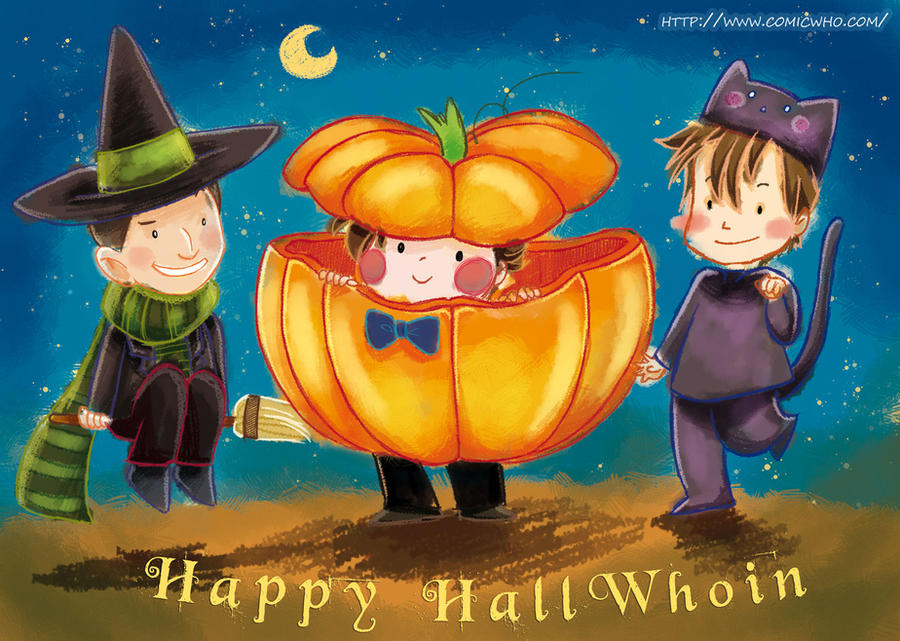 Happy Hall-Who-in! by elisamoriconi