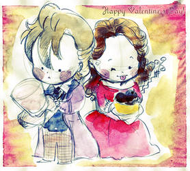 Happy Valentine day by elisamoriconi
