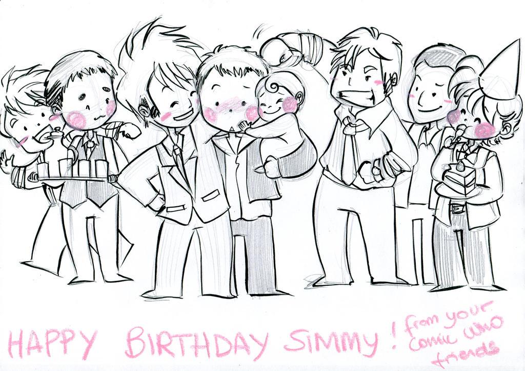 Happy birthday Simmy by elisamoriconi