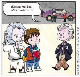 CW - Love for cars (that also travel through time) by elisamoriconi