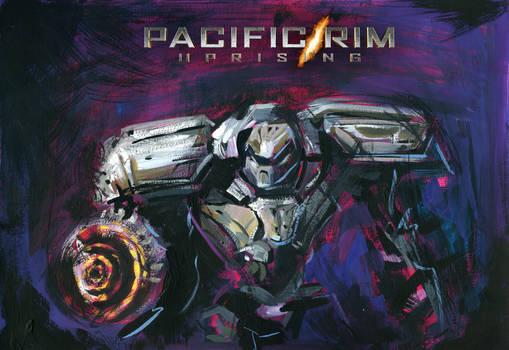 PACIFIC RIM UPRISING - Silver Jaeger