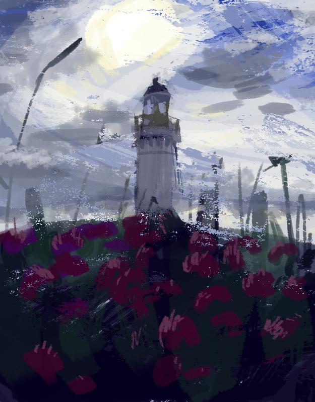 Lighthouse by elisamoriconi