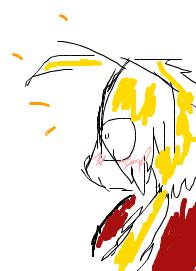 Edo blushing XD by ShiningDiaruga