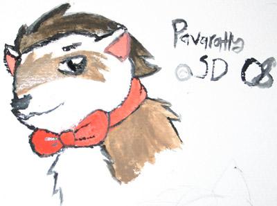 Pavaratty with watercolors by ShiningDiaruga