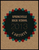 Other Springville High School Yearbook Cover 2013 by j-m-k-u-m