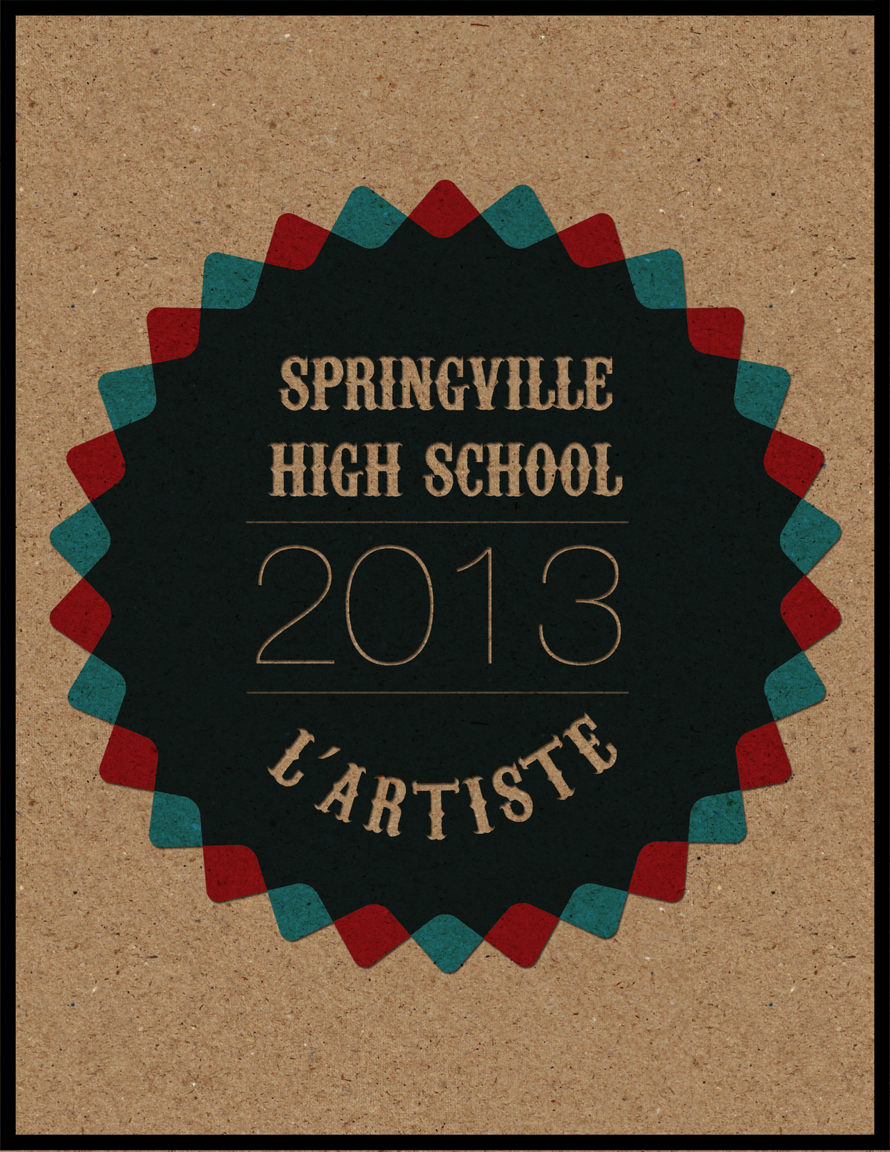 Yearbook Cover Design ~ Other springville high school yearbook cover by j m k