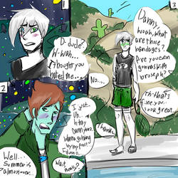 Danny Phandom Noncanon Makeup Comic 1 by Bottled-Love