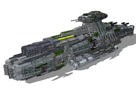 Ganba Destroyer by StarSword-C