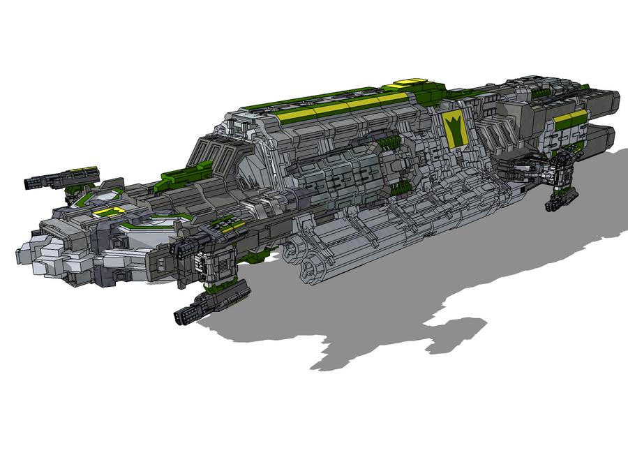 Ganba Escort Carrier by StarSword-C