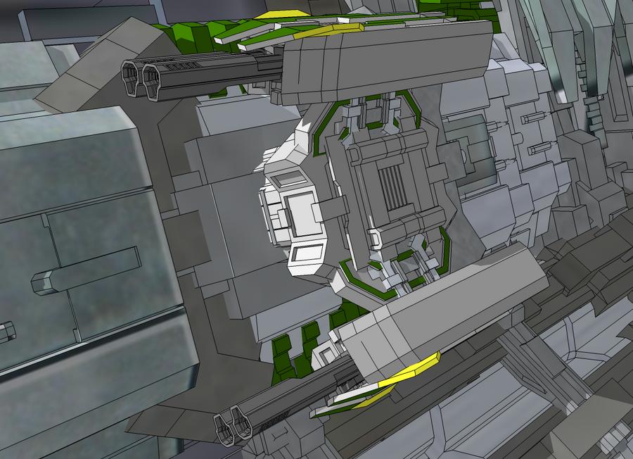 RT-83 Heavy Mass Driver Turret by StarSword-C