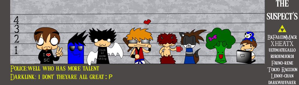 the Suspect's by el-dark-link