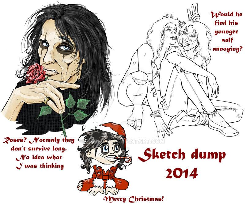 Sketch Dump 2014 by Nephtis