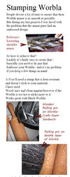 Tutorial: Embossing Worbla by Nephtis