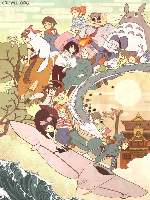 картинки аниме всех мультов