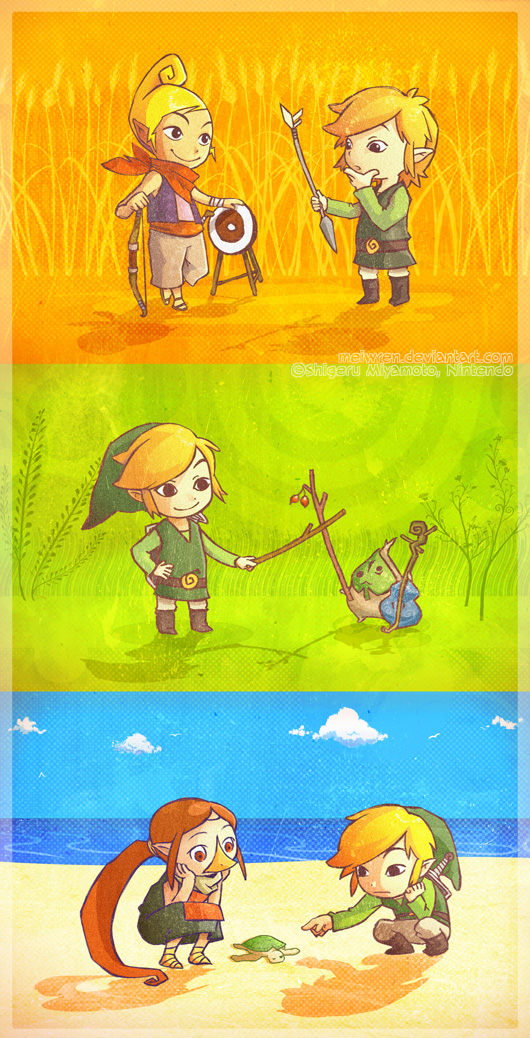 windwaker Colored by meiwren