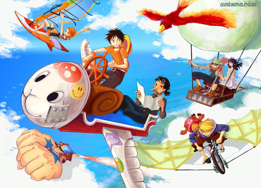 One Piece - Flight by meiwren