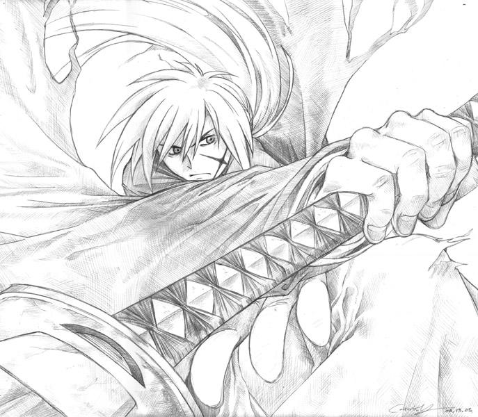 Kenshin Pencil By Meiwren