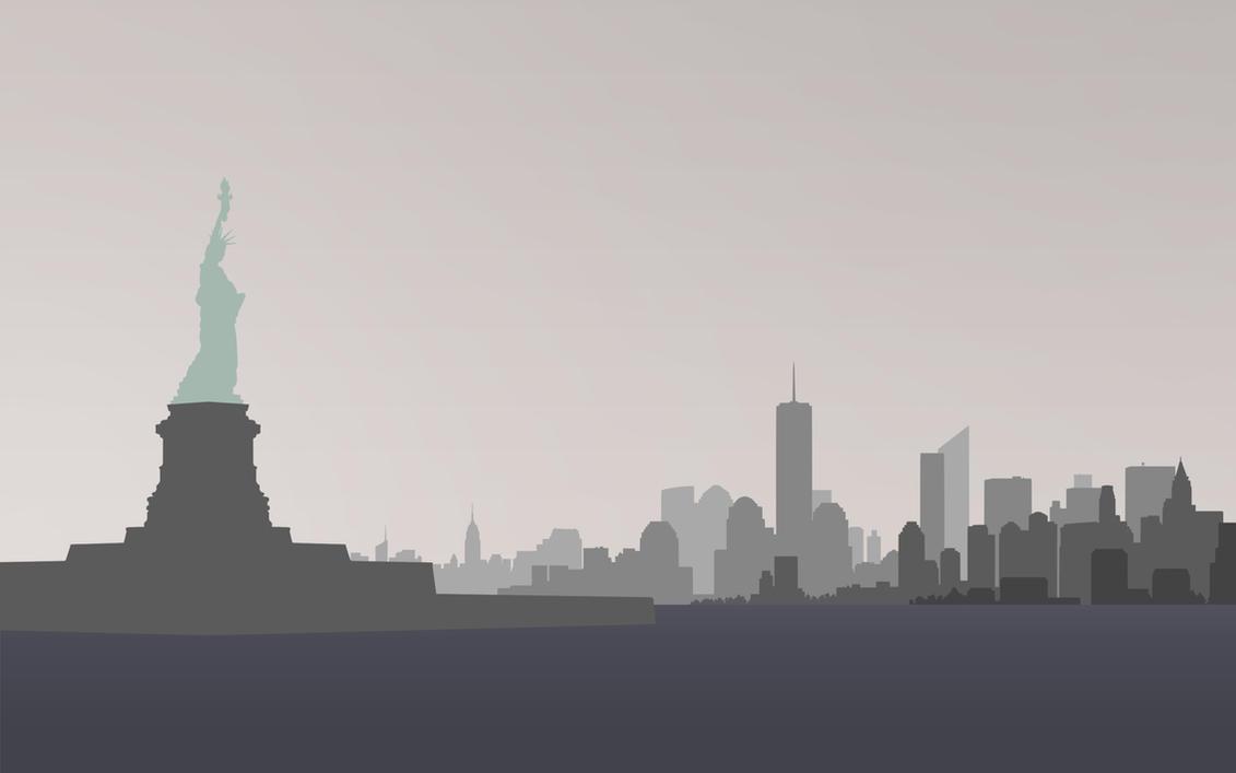 Minimal New York by Kevichan