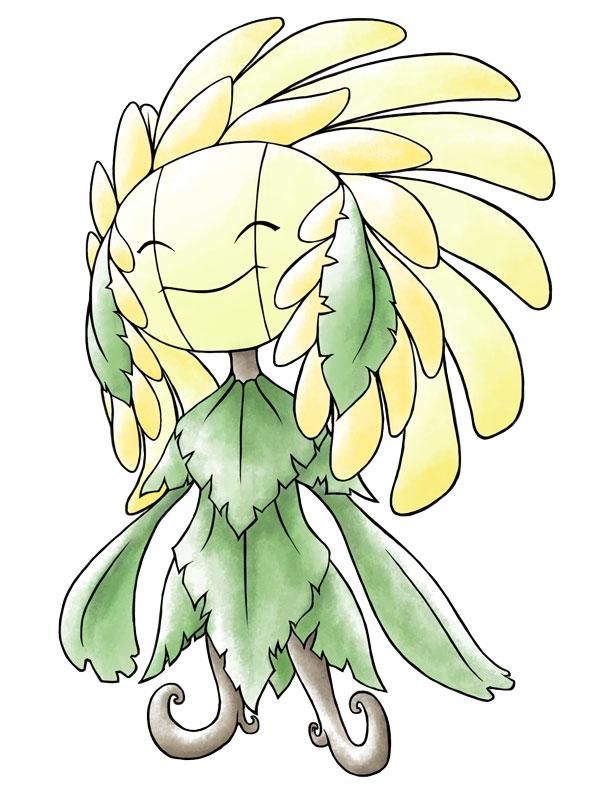 Mega Sunflora by Kevichan