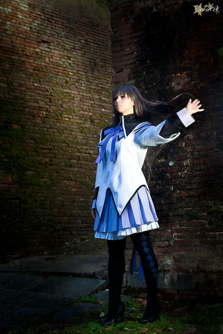 Homura - Moving forward. by Achico-Xion