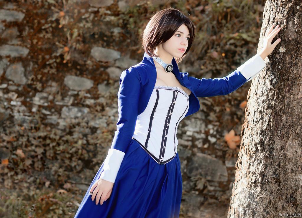 Elizabeth Comstock cosplay by Achico-Xion