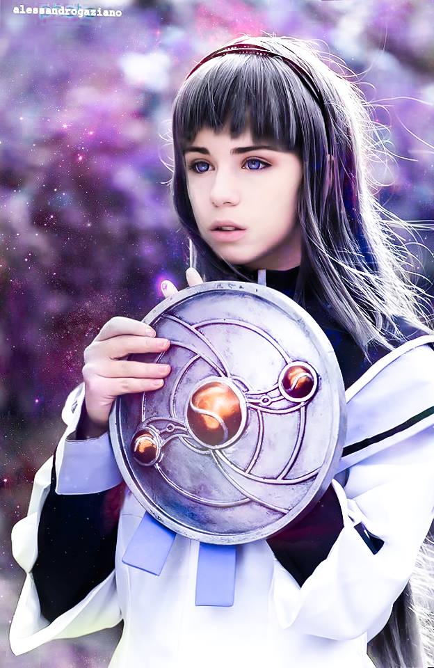 Homura Akemi cosplay by Achico-Xion