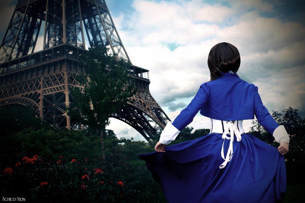 Paris, Mr. DeWitt! by Achico-Xion