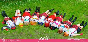 Bokura wa ima no naka de - album cover cosplay vr. by Achico-Xion