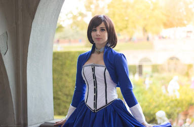 The girl in the tower - Elizabeth Bioshock cosplay