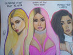 FEMALE RAP TRINITY by Dylan-Sketch
