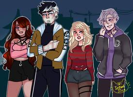squad goals by InkedJinx