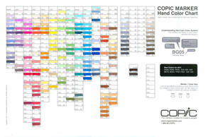 112011 Copic Color Chart
