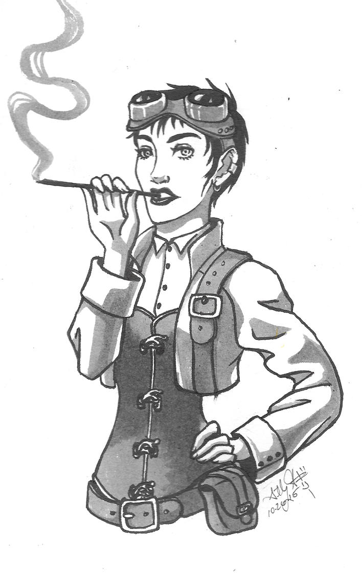 102715 Steampunk by GillyPerkyGoth