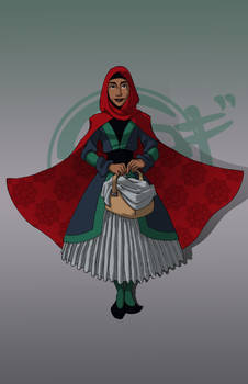 111615 Little Red Riding Hijab