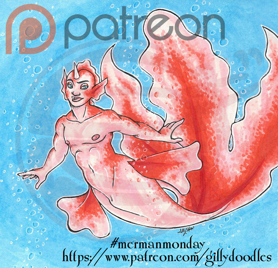 112116 Merman Monday by GillyPerkyGoth