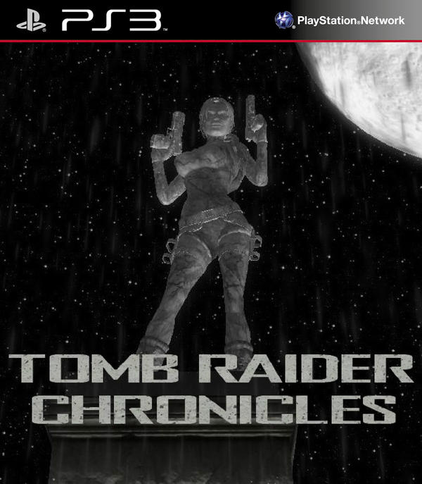 Tomb Raider Chronicles Cover by bloodyzarroc  Tomb Raider Chr...