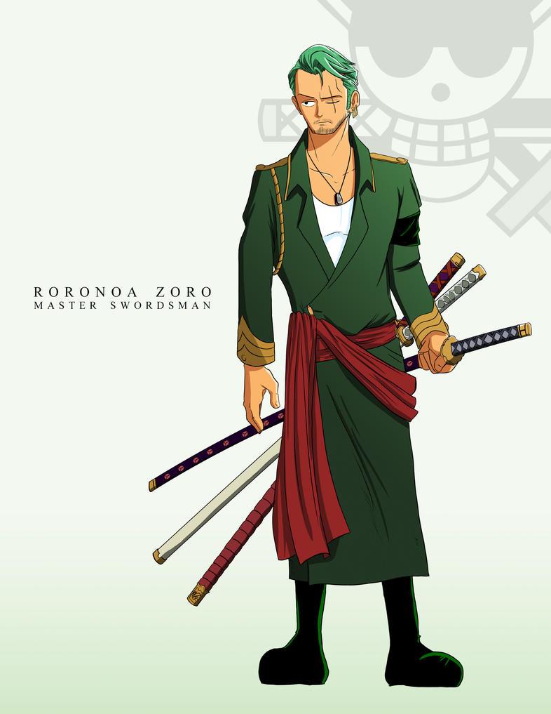 Zoro One Piece Time Skip Roronoa Zoro - ...