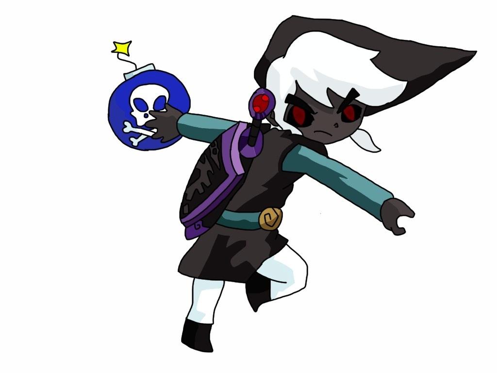 link chibi dark deviantart