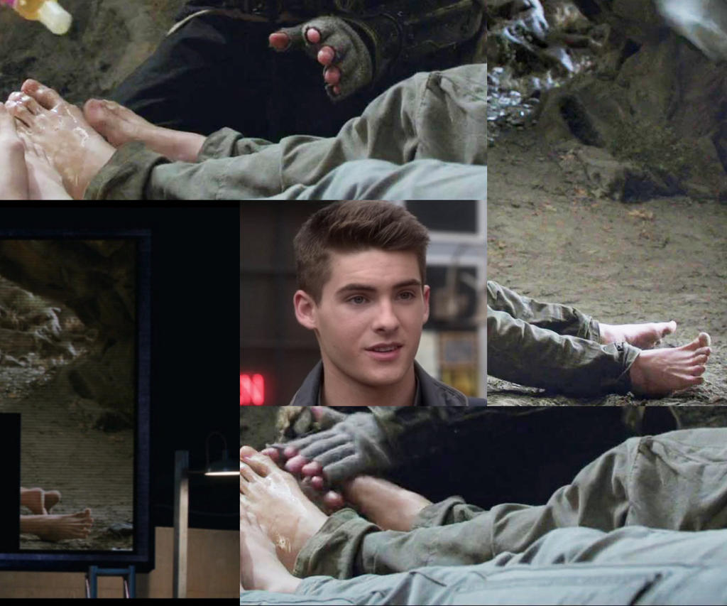 cody christain barefoot collage by tickler24 on deviantart