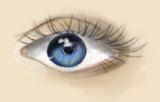 Semi-Realistic Eye by Jennuitte