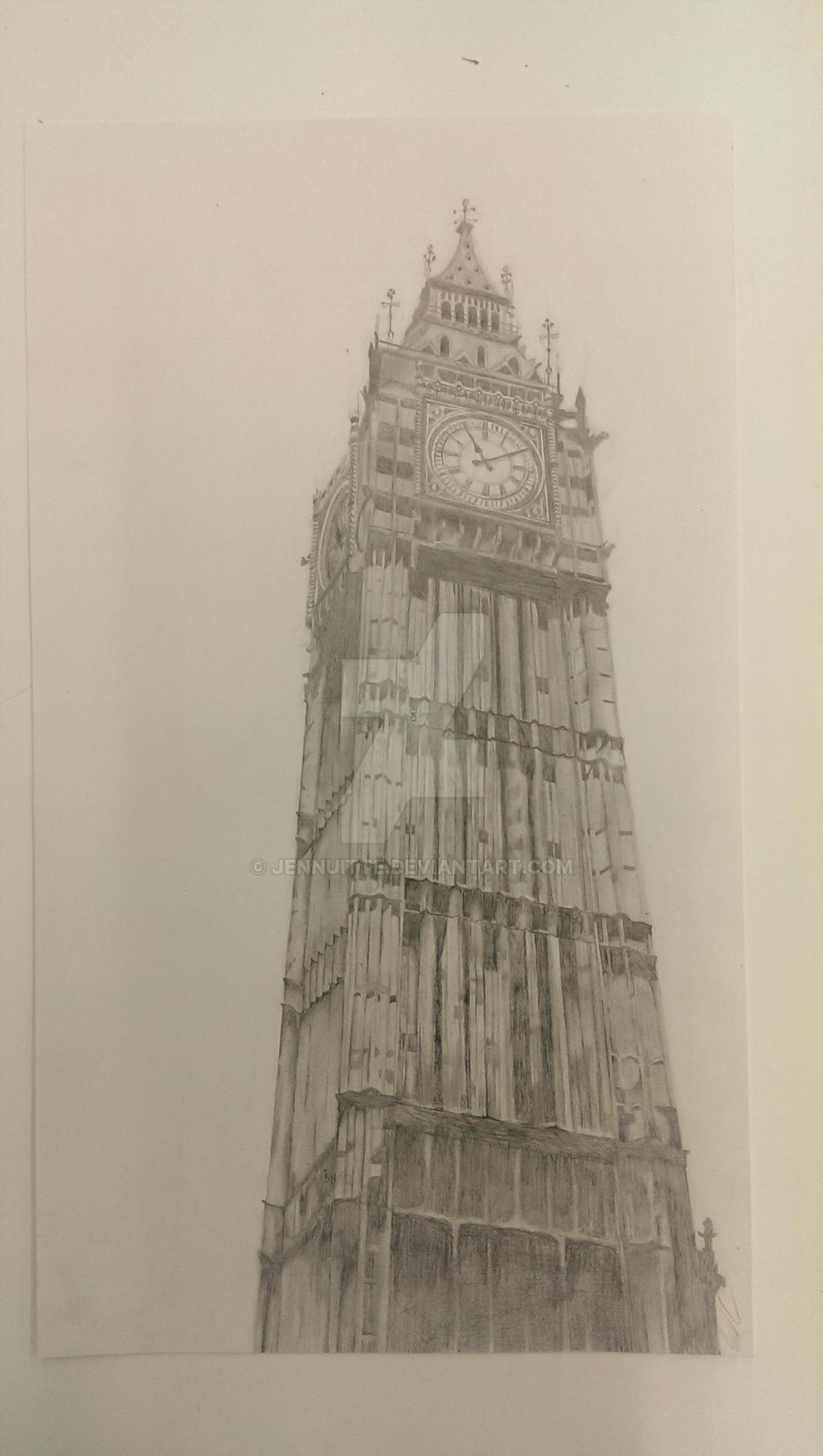 Big Ben by Jennuitte
