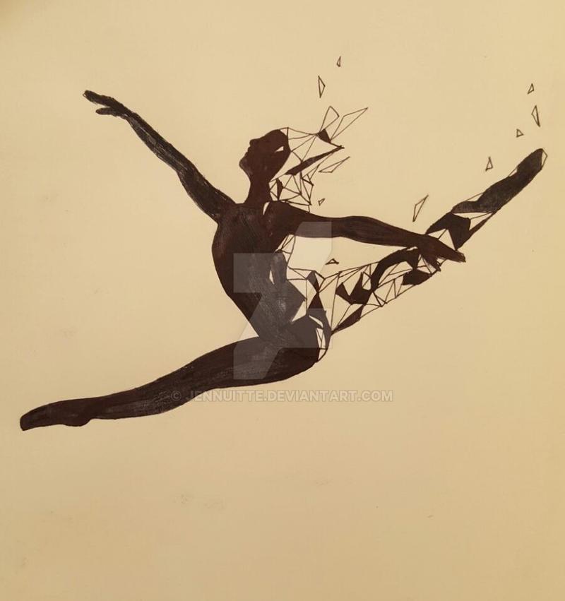 Dissolving Dancer by Jennuitte