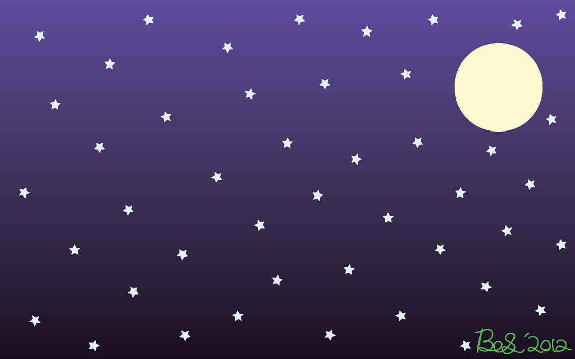 Great Wallpaper Night Cartoon - starry_night_wallpaper_by_briannaterx-d54qgc6  Photograph.png