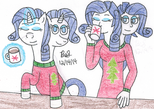 two headed rarity in a christmas sweater by bsalg93
