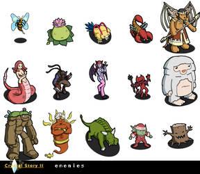 Crystal Story 2 Monsters by Lan14n