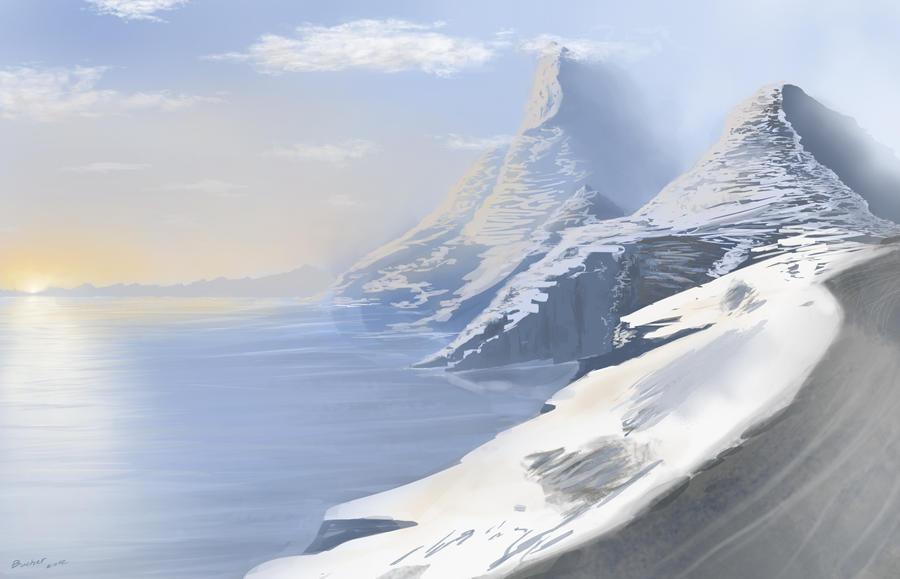 Mountain 2 by MiniJnah